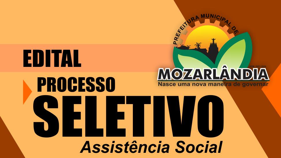 Edital Processo Seletivo Assistência Social